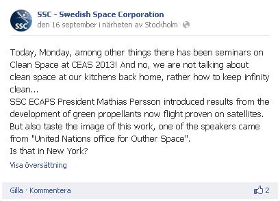 SSC – 2013   uppsagd
