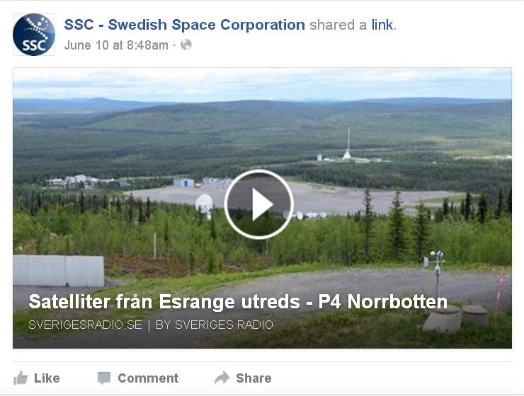 Radio sweden lagger ned sandningar